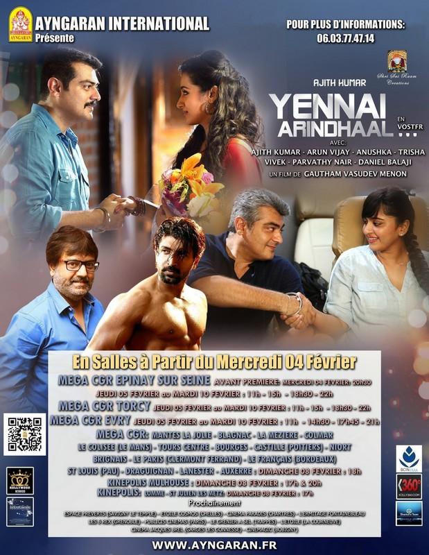 Yennai Arindhaal affiche1